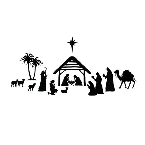 nativity silhouette clip free nativity silhouette clip for free 101 clip