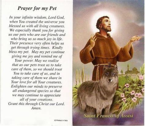 st francis prayer   pet prayer card discount