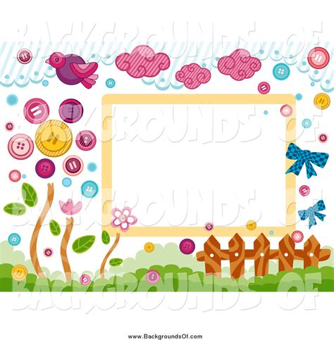 backdrop border design flower background design clipart 50