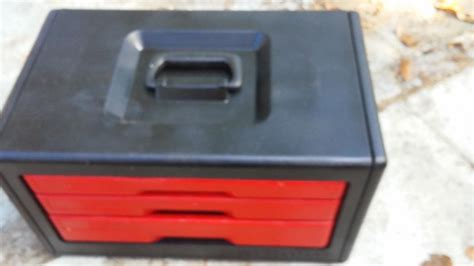 craftsman 3 drawer tool box plastic craftsman 3 drawer tool box for sale classifieds