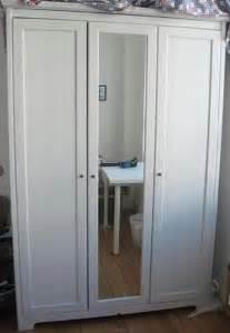 ikea aspelund schrank ikea schrank aspelund 3t 252 rig spiegel weiss in