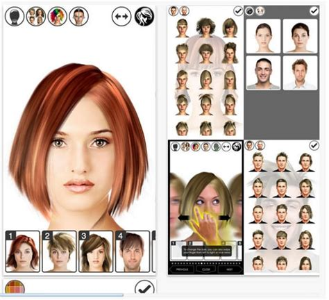 short hairstyle app hairstyle makeover on the app store