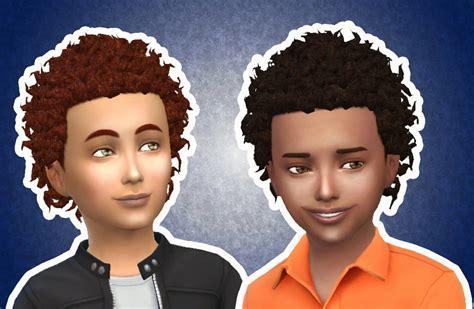 sims  hairs mystufforigin close curls  boys