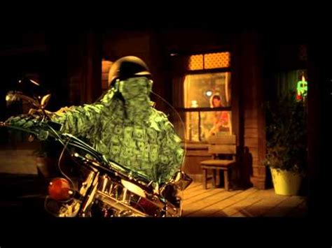 """geico motorcycle money man """"get away"""" commercial song"""