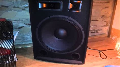 Speaker Toto Sound 15 Inch ibiza active dj pa speaker 15 quot inch bass review sound test