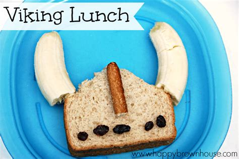 viking crafts for easy viking lunch for