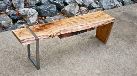 modern  edge waterfall coffee table   build