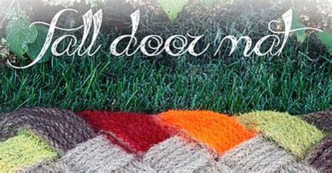 ombre fall door mat hometalk