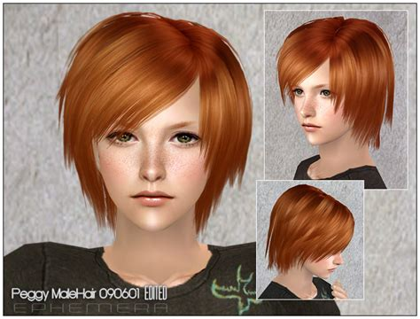 the sims 2 downloads fringe hairstyles mod the sims coolsims male hair 27 peggy free hair