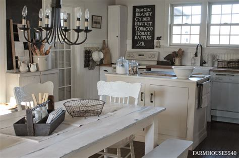 White Farmhouse Kitchen Table Farmhouse 5540 Our Farmhouse Kitchen Table