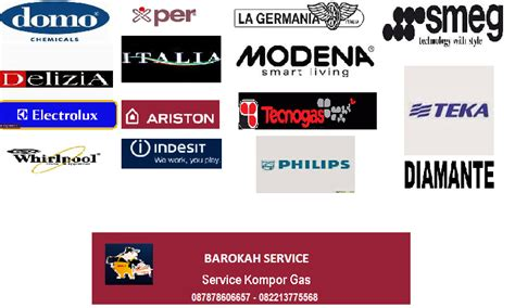 Kompor Merk Ariston service kompor gas ariston azalea delizia modena