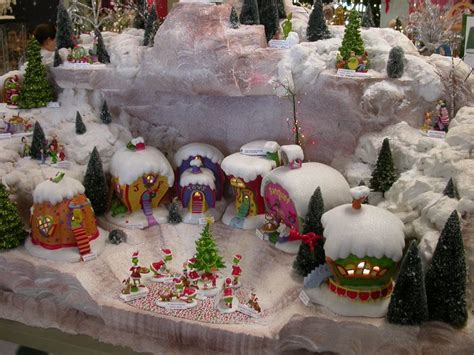 grinch christmas village