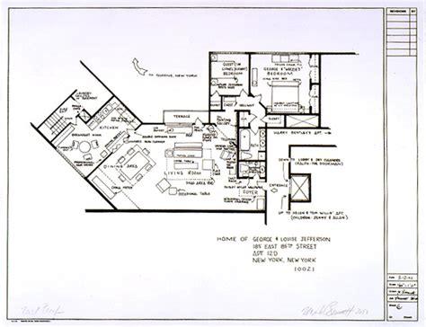tv show house floor plans 15 floor plans of tv s best homes