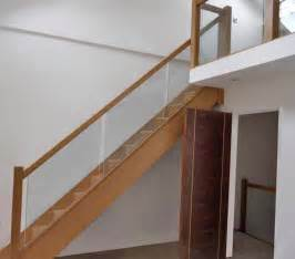 Glass Stairs Banisters Glass Balustrading Oak Handrail With Glass Toughened Glass