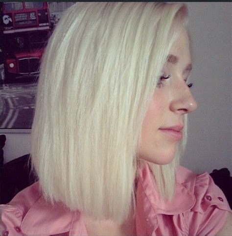 platinum blonde bob images instagram insta glam long bob haircuts let me go