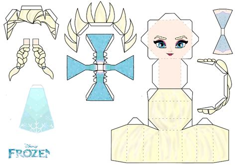 Disney Papercraft - elsa papercraft template disney frozen by gronca by