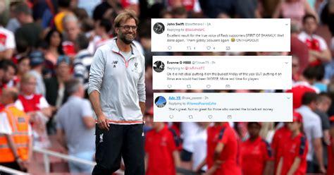 arsenal xmas fixtures common sense prevails liverpool fans react as
