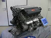 Bugatti Veyron Engine Design W16 Engine