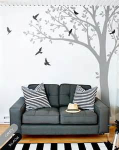 wall decals huge tree wall decal wall mural stickers huge nursery tree landscape wall paper wall print decal home decor wall mural ebay