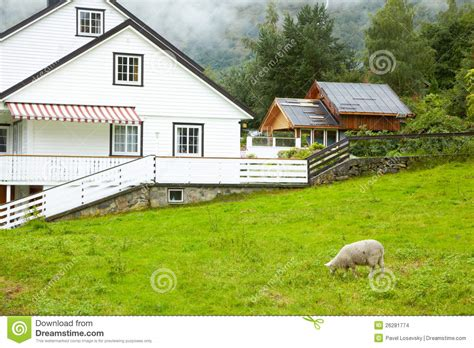 cottage in mountains cottage in mountains stock images image 26281774