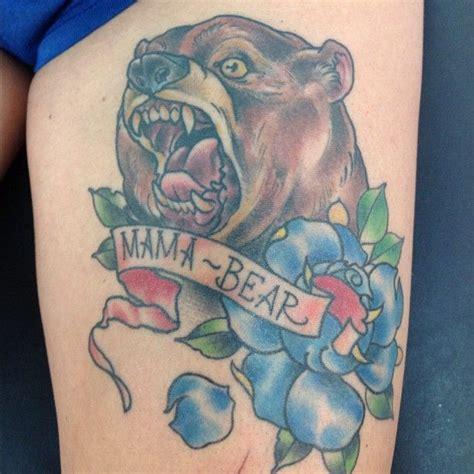 mama bear tattoo tattoos artists