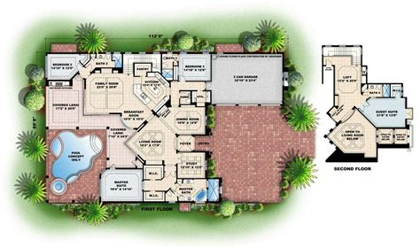 colored floor plans color house plans mibhouse com