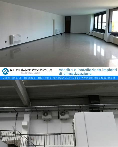 climatizzazione a pavimento condizionata climatizzatore a parete o a pavimento