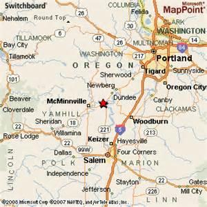 map of dayton dayton oregon