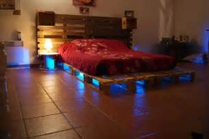 Bed Frame Made From Pallets 5 Diy Beds Made From Wooden Pallets 99 Pallets