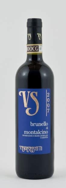 vasco sassetti 2007 vasco sassetti brunello di montalcino italy tuscany