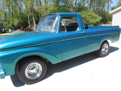 Ford Unibody Truck by 1963 Ford F100 Unibody Truck For Sale Photos Technical