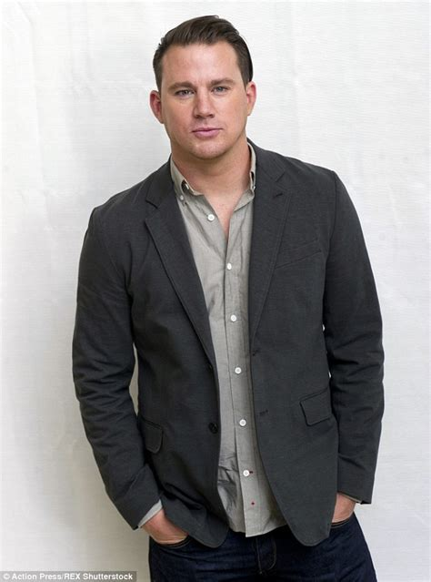 Blazer Tatum Channing Tatum Is Joined By Quentin Tarantino At The