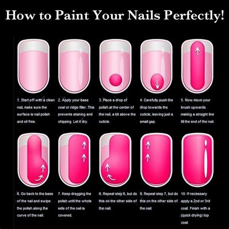 How To Decorate Nails At Home by How To Paint Your Nails Perfectly Health