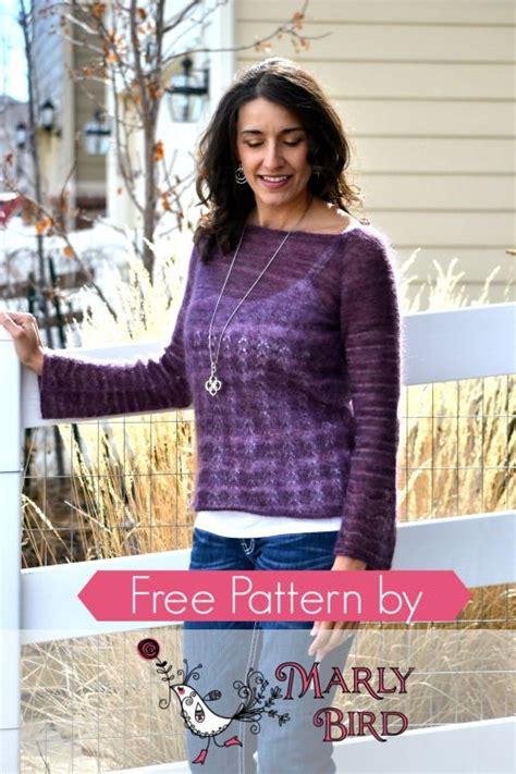 boatneck sweater knitting pattern blackberry boatneck sweater allfreeknitting