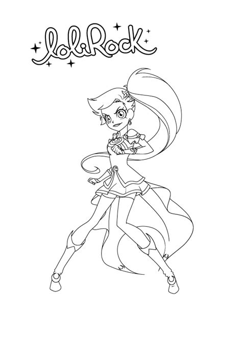 Iris In Lolirock Transform Coloring Pages Coloring Pages