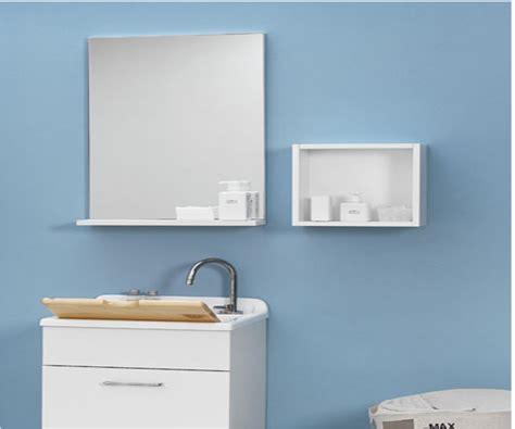 specchio bagno con mensola specchio con mensola 75x14x70 jolly