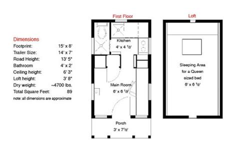 tumbleweed house plans tumbleweed tiny house floor plans
