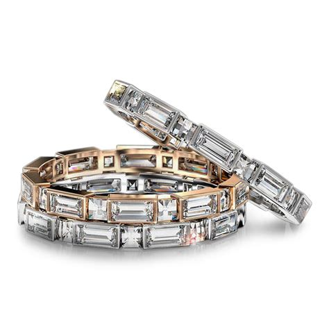 Wedding Bands With Baguettes by Blaze And Baguette Wedding Band