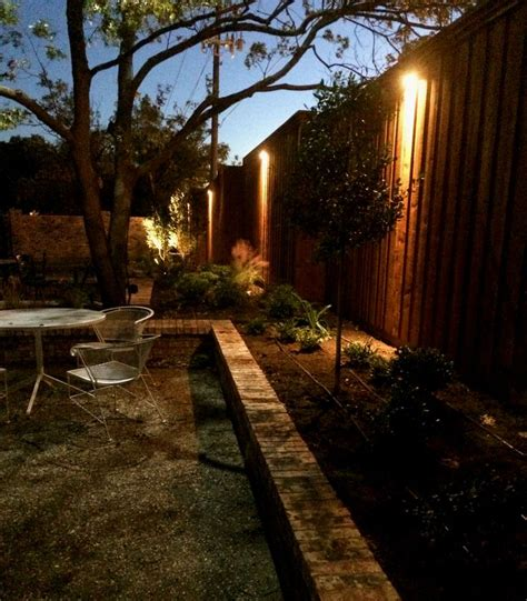 Dallas Landscape Lighting 17 Best Images About Fence Step Wall Lighting Installation By Dallas Landscape Lighting On