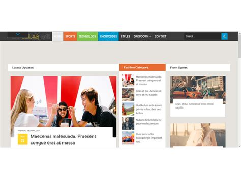 15 best boostrap templates for blog websites freemium colormag news blog free bootstrap template
