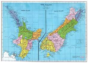 Where Is New Zealand On A World Map by Pin Map Of New Zealand On Pinterest