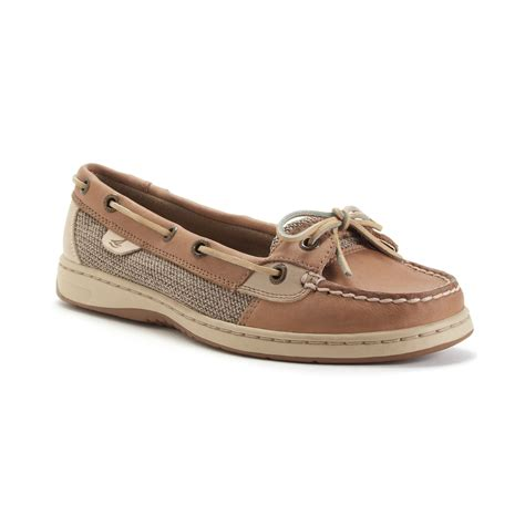 sperry top sider s angelfish boat shoes in brown