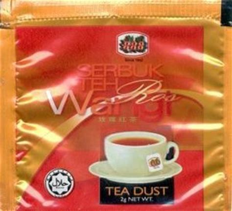 Teh Wangi tea bag serbuk teh wangi ros 888 guan malaysia
