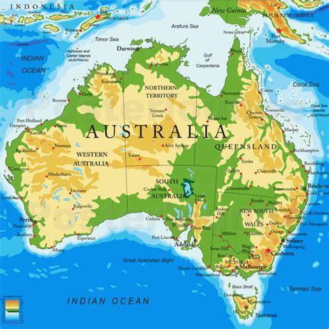 topographic maps australia australia topographic map poster posterlounge