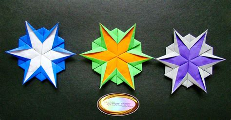 Simple Origami Snowflake - origami maniacs 5 different kinds of origami snowflakes