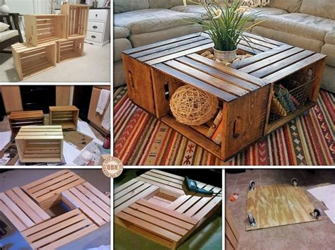 Wine Crate Coffee Table Diy Spectacular Diy Fish Tank Coffee Table Free Guide And Tutorial