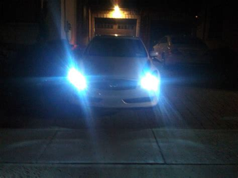 just installed 8000k hid headlights leds myg37