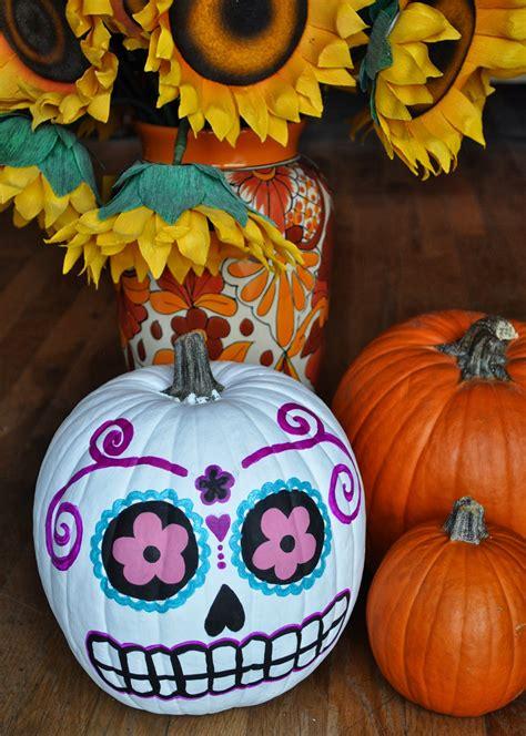 artelexia day of the dead diy 18 sugar skull pumpkins