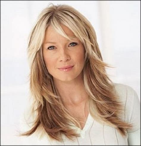 Feathered Layered Haircuts 50 | hair cuts on pinterest heather locklear feathered
