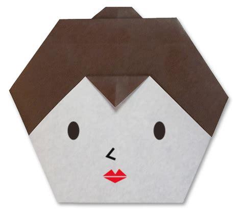 Origami Faces - easy origami animal